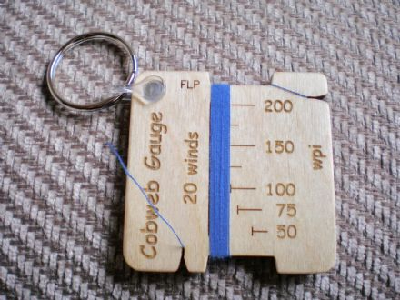 Fleece Loved Products Ollaberry Lace Weight Gauge